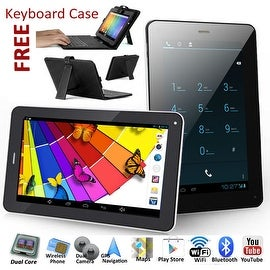 Indigi® 7inch 2-in-1 Android 4.2 Jellybean TabletPC + SmartPhone w/ Dual-Cameras + Dual-Sim + WiFi + Keyboard Case included