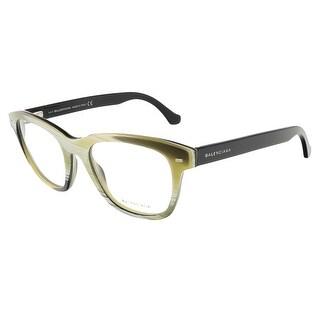 Balenciaga BA5011/V 064 Yellow Black Horn Square prescription-eyewear-frames - 52-19-140