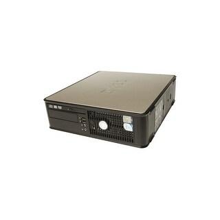 Dell OptiPlex 745 SFF Black & Gray Refurbished PC - Intel Core 2 Duo 1.86 GHz 4GB DIMM DDR2 250GB DVD-ROM Windows 10 Pro 64-Bit