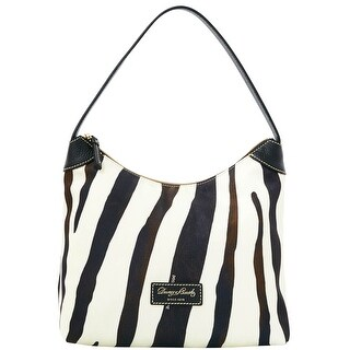 Dooney & Bourke Nylon Hobo (Introduced by Dooney & Bourke at $188 in Apr 2016) - Zebra