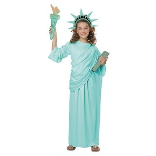 Girls Statue of Liberty Halloween Costume