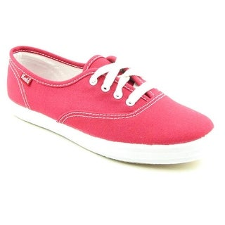 Keds Champion Oxford CVO Women  Round Toe Canvas Red Sneakers