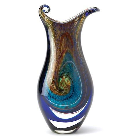Innovative Galaxy Art Glass Vase