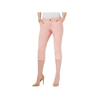 Lee Platinum Label Womens Petites Chino Pants Crop Pleated - 8P