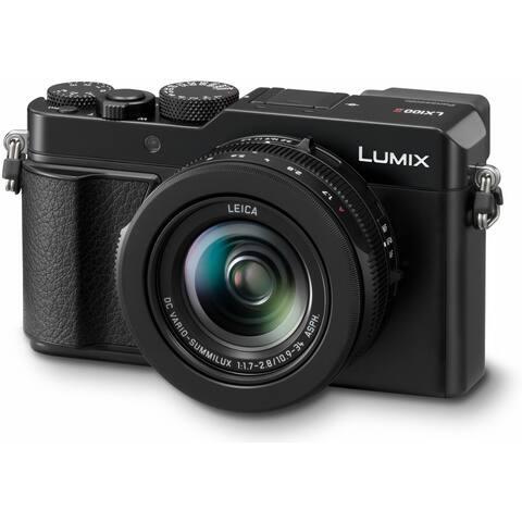 Panasonic LUMIX LX100 II Camera (Black) with 24-75mm LEICA DC Lens