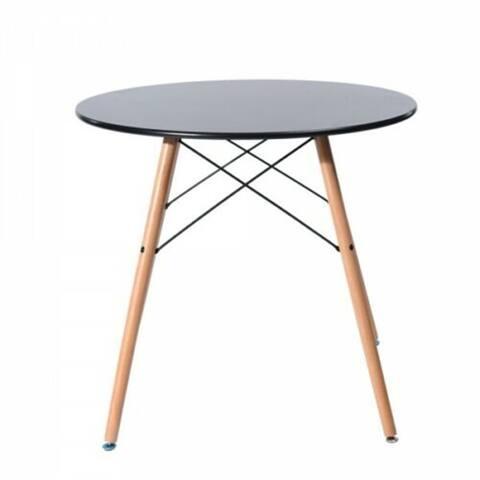 Carson Carrington Sabyholm Modern Round Kitchen Dining Table