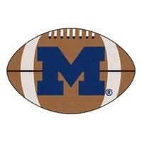 University of Michigan Football Area Rug