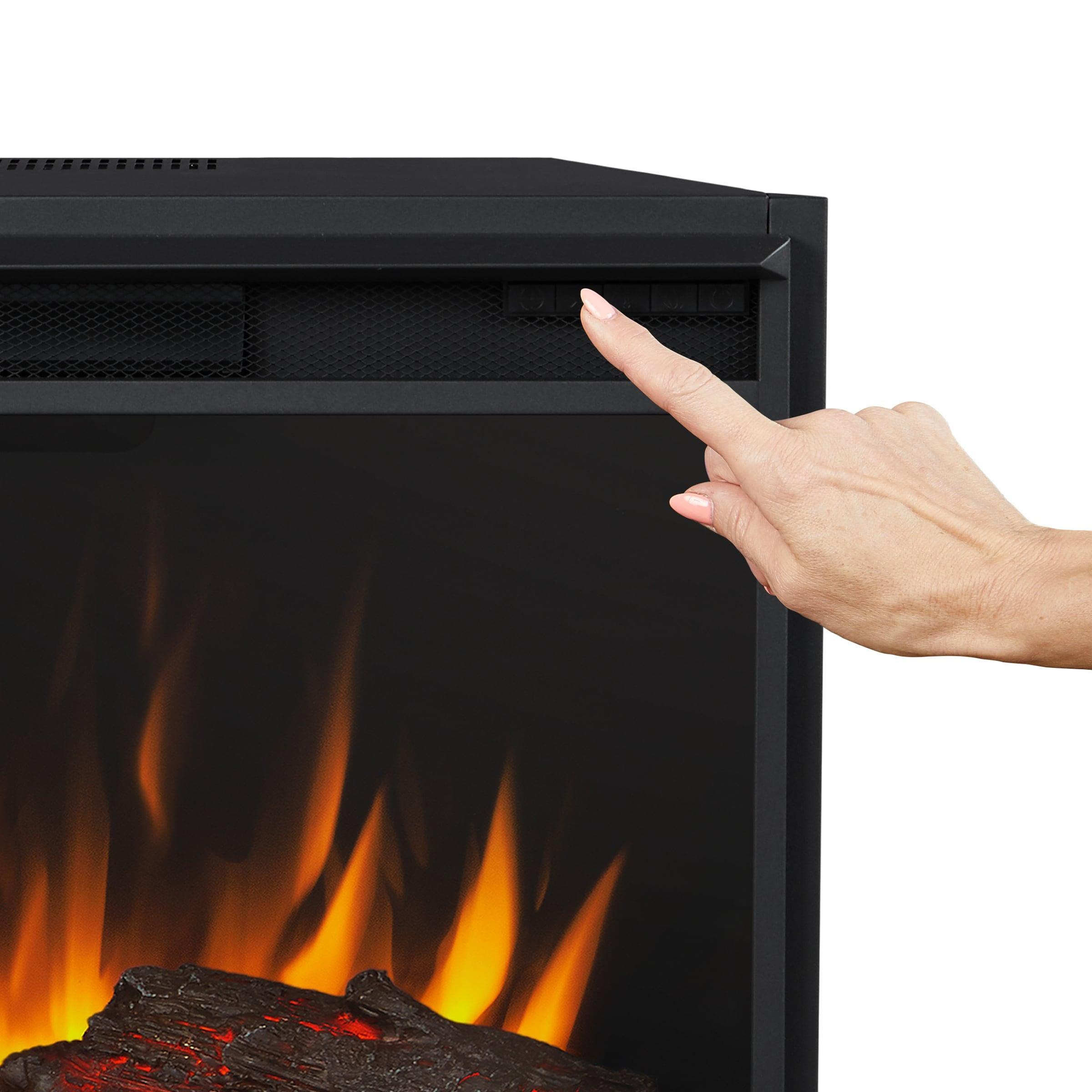 Ashton Grand Media Electric Fireplace In English Oak 92 375 X 14 5 X 42 5 Overstock 31572938