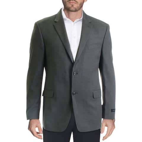 Tommy Hilfiger Mens Shane Sportcoat Woven Suit Separates - Grey