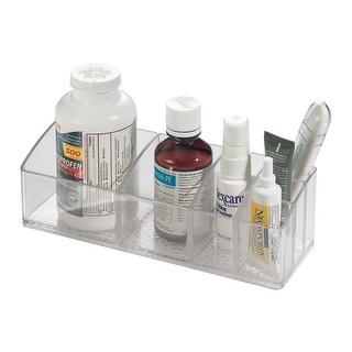 "InterDesign 42730 Medicine Plus Organizer, 9"", Clear"