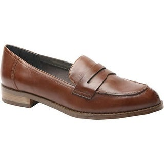 Ros Hommerson Women's Delta Penny Loafer Coffee Leather