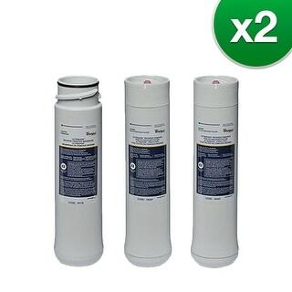 """Original RO Filter Kit For Whirlpool WHEERF/WHEERM (2-Pack) Original Reverse Osmosis Filter"""