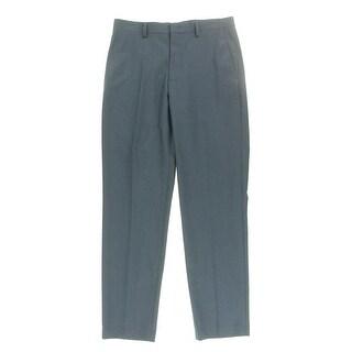 M151 Mens Solid Slit Pockets Dress Pants