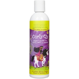 Curls Curly Q's Moisturizing Curl Cream Red Velvet, 8 oz
