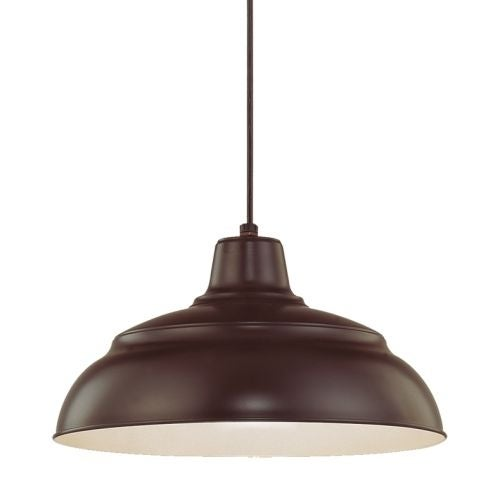 Millennium Lighting RWHC14 R Series 1 Light Warehouse Pendant - 14 Inches Wide