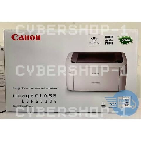 Canon imageCLASS LBP6030w Monochrome Laser Printer - White