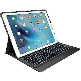 Logitech Create  Backlit Keyboard Case With Smart Connector  Exclusively For 12.9-Inch Apple Ipad Pro  Premium Anodiz