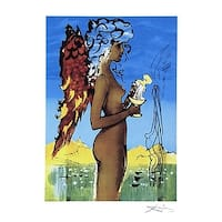 ''Love's Promises'' by Salvador Dali Limited Editions Art Print (24 x 18 in.)