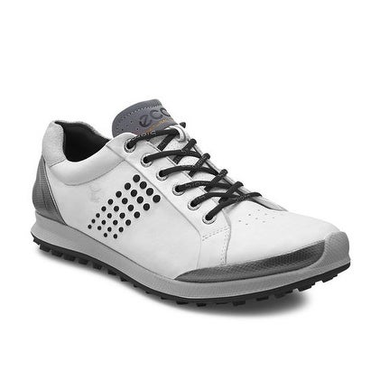 9a952a457cf2 Shop Ecco Mens Biom Golf Hybrid 2 Yak White Black 43 Euro 9-9.5 Shoes - Free  Shipping Today - Overstock - 18687240