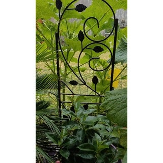 Outdoor Garden Plant Design Trellis for Growing Plants & Vegetables Set of 2