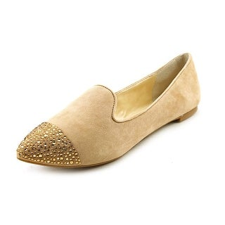 Enzo Angiolini Sersies Pointed Toe Suede Flats