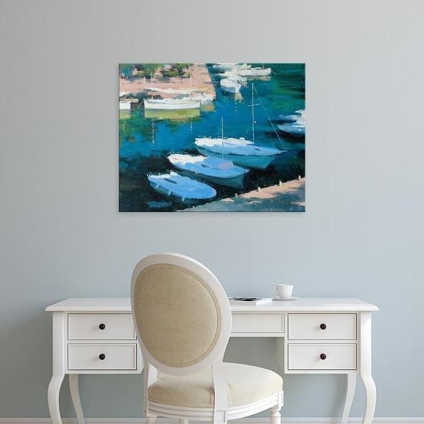 Easy Art Prints Alex Hook Krioutchkov's 'Marina 16' Premium Canvas Art