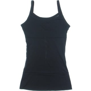Yummie by Heather Thomson Womens Briana 3-Panel Long Shaping Tank - L