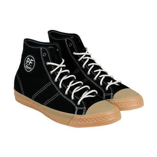 PF Flyers Rambler Mens Black Canvas High Top Lace Up Sneakers Shoes|https://ak1.ostkcdn.com/images/products/is/images/direct/e7d7f60abfc9391bd33a2a89a6d6e0d8bb80c754/PF-Flyers-Rambler-Mens-Black-Canvas-High-Top-Lace-Up-Sneakers-Shoes.jpg?impolicy=medium
