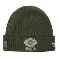 New Era 2018 NFL Green Bay Packers Salute to Service Knit Hat Stocking Beanie