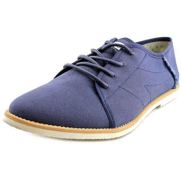 Movmt Le Fronck Round Toe Canvas Oxford