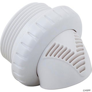 "Inlet Fitting, Infusion Venturi, 1-1/2""mpt, White"