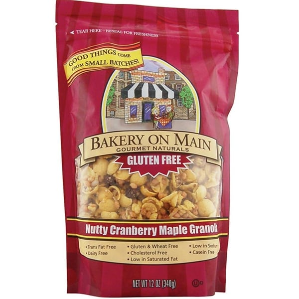 Bakery On Main - Nutty Cranberry Maple Granola ( 4 - 22 oz bags)