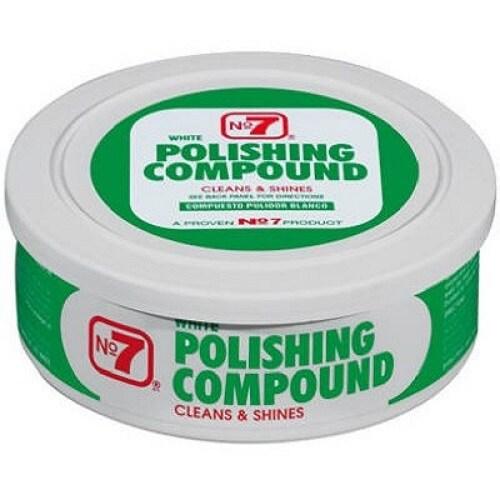 NO 7 07610 Polishing Compound, 10 Oz, White