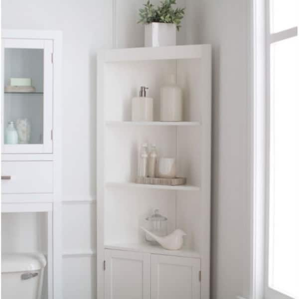 Bathroom Linen Cabinet With Shelves