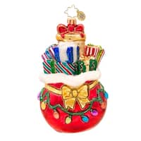 Christopher Radko Glass Glowing Through the Season Christmas Ornament #1017389 - RED