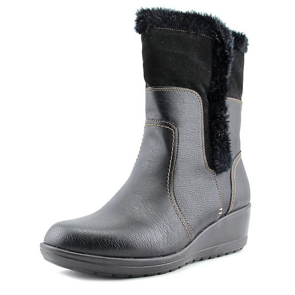 Softspots Corby Black Boots