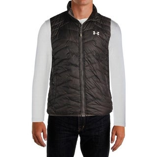 Under Armour Mens Outerwear Vest Printed Quilted - M