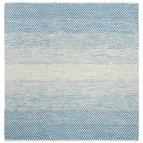 Safavieh Handmade Flatweave Montauk Geert Casual Cotton Rug