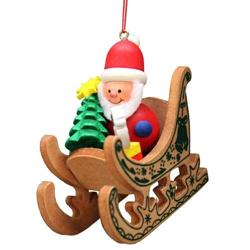 Santa in Sled