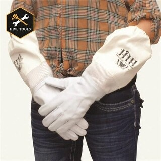 Harvest Lane Honey CLOTHGM-103 Bee Keeping Gloves, Medium