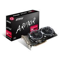 MSI Video Card RX 580 ARMOR 8G OC 8GB GDDR5 256Bit PCI Express