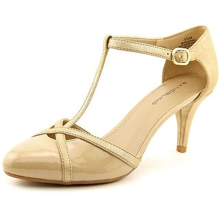 Bandolino New Hall Women Round Toe Canvas Heels