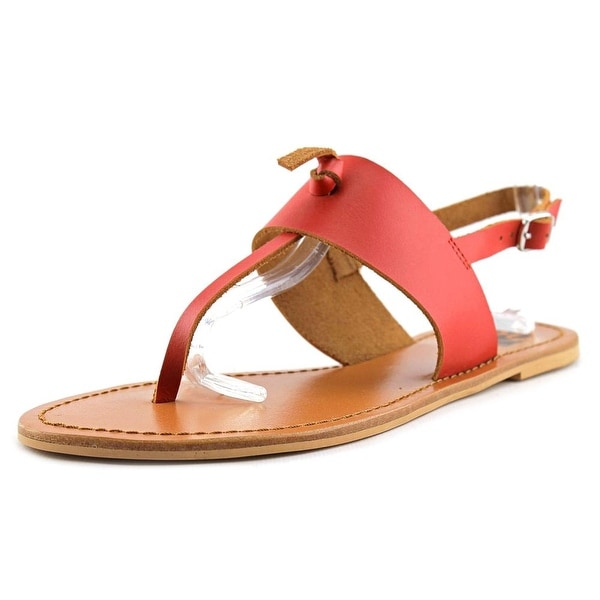 29 Porter Rd Fioria Open Toe Leather Thong Sandal