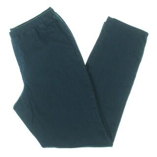 Karen Scott Womens Petites Core Straight Leg Jeans Comfort Waist Pull On - pl