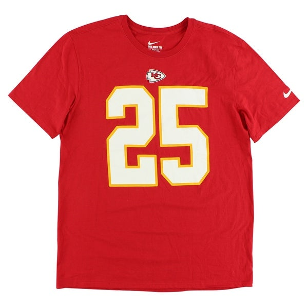 Shop Nike Mens Kansas City Chiefs Jamaal Charles Jersey T Shirt Red - Red  White Yellow - L - Free Shipping On Orders Over  45 - Overstock - 22613677 d971dd974