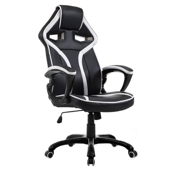 Shop Costway Race Car Style Bucket Seat Office Chair High ... on racing chair, race car bucket seat, wide seat office chair, car seat gaming chair, ejection seat office chair, truck seat office chair, officw car seat chair, race car office furniture, sitting in a chair, red computer chair, race car chair, racer chair, red tractor seat desk chair, car seat office chair, race seat stool, sport seat office chair, bike seat office chair, car seat recline chair, bucket seat office chair,