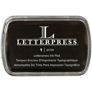 Letterpress Ink Pad-Black