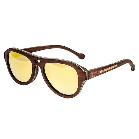 061dd5a87e1db Earth Wood Clearwater Unisex Wood Sunglasses - 100% UVA UVB Prorection -  Polarized