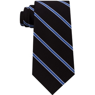 Club Room Mens Stripe Self-Tied Necktie - One Size