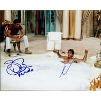 Signed Scarface Al Pacino  Steven Bauer 8x10 Photo by Al Pacino and Steven Bauer autographed